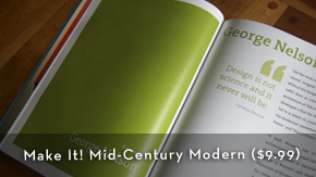 Make It! Mid-Century Modern eBook - $9.99
